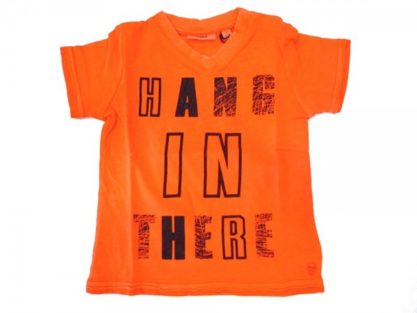 MEXX Jungen Kinder T-Shirt flourescent orange Gr. 74 - 92