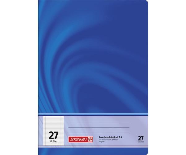 Schulheft A4 liniert Lineatur 27 (32 Blatt)