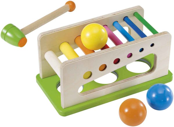 Selecta Holzspielzeug Klopfbank Battino
