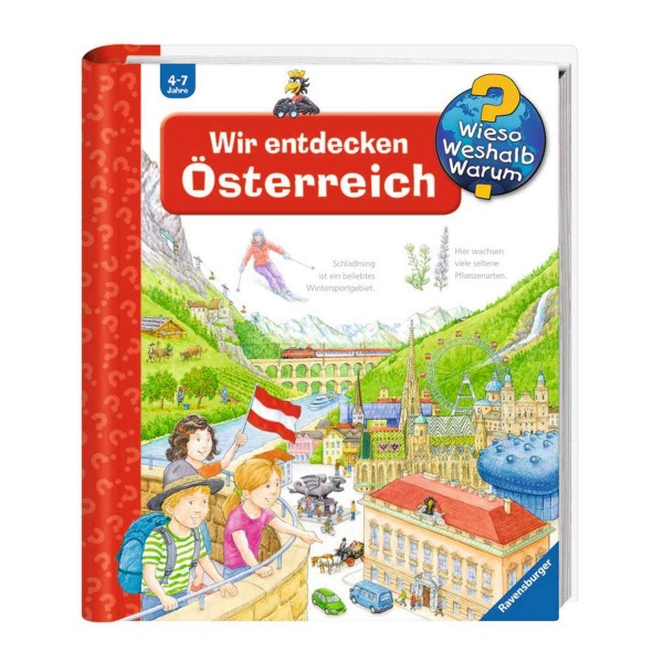 Ravensburger Kinderbuch Wieso Weshalb Warum? Wir entdecken Österreich