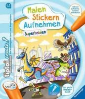 Ravensburger tiptoi Create Malen, Stickern & Aufnehmen Superhelden