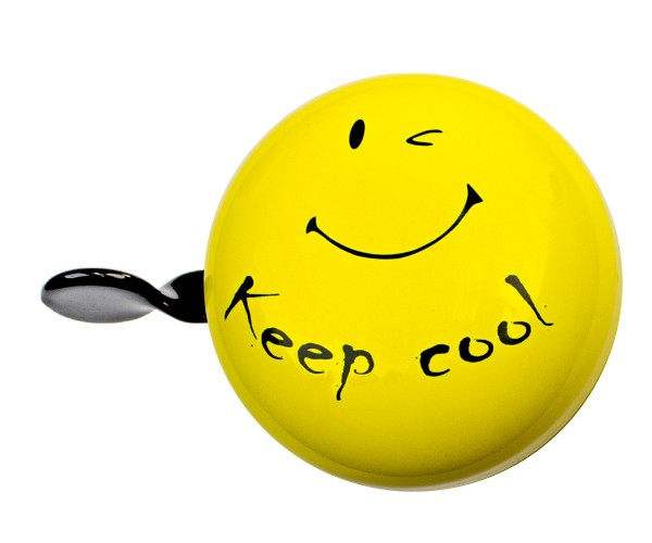 bbeBells Fahrradklingel Keep cool gelb