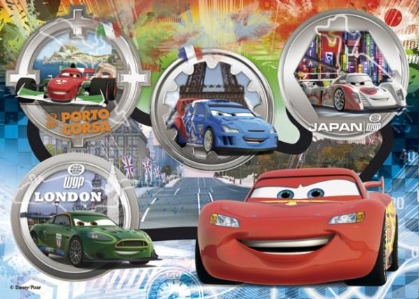 CLEMENTONI 24 Maxi Teile Puzzle Disney Cars: Grand-Prix-Rennen