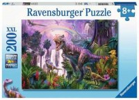 Ravensburger Kinder Puzzle XXL 200 Teile Dinosaurierland