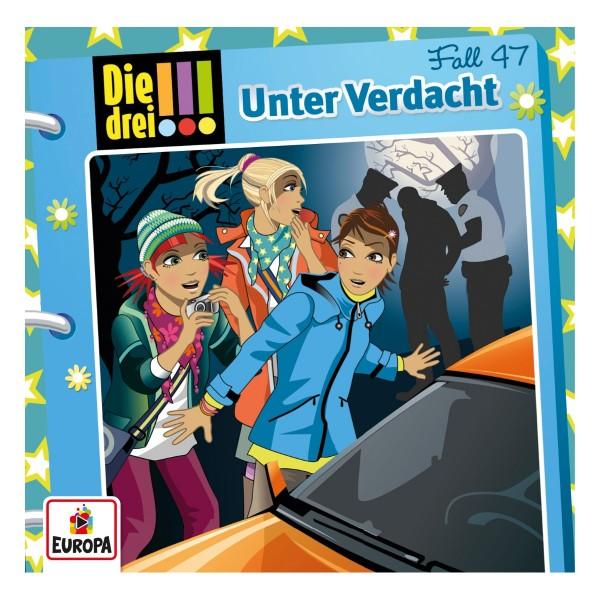 Kinder CD Die drei !!! Fall 47 Unter Verdacht
