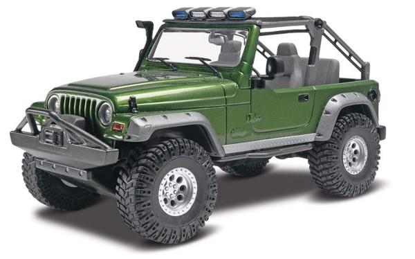 Revell Autobausatz Trucks Jeep Wrangler Rubicon 1:25