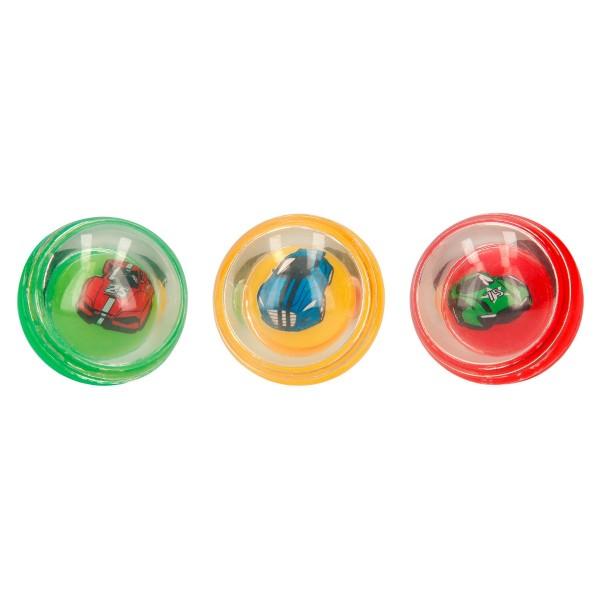 Monster Cars Springball mit Sound und Licht