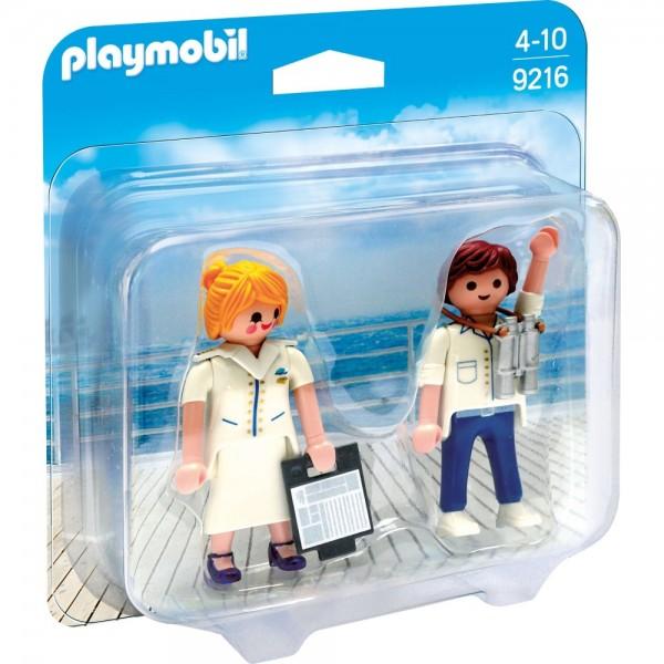 Playmobil® Duo Pack Stewardess und Offizier 9216