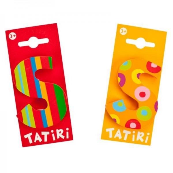 Tatiri Holzbuchstabe S