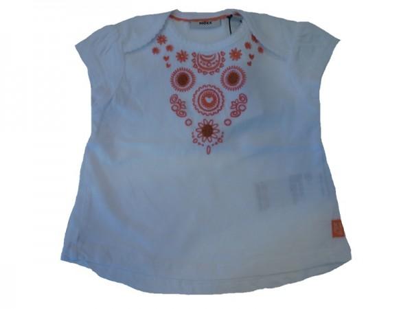 MEXX Mädchen T-Shirt bestickt white Gr. 74 - 92
