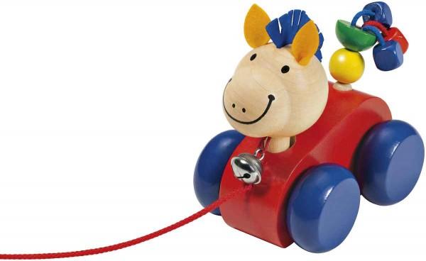 Selecta Holzspielzeug Nachzieh-Pferd Lilli