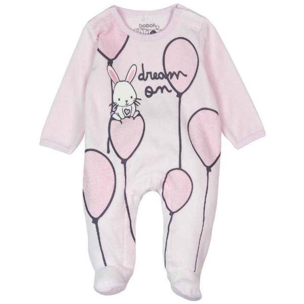 Bóboli Baby Mädchen Strampler Dream on rosa Gr. 56 - 86