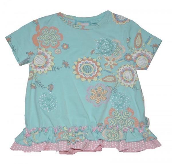 Paglie Mädchen T-Shirt Big Flowers Gr. 68-98