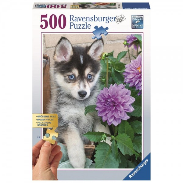 Ravensburger 500 Teile Puzzle Putziger Husky
