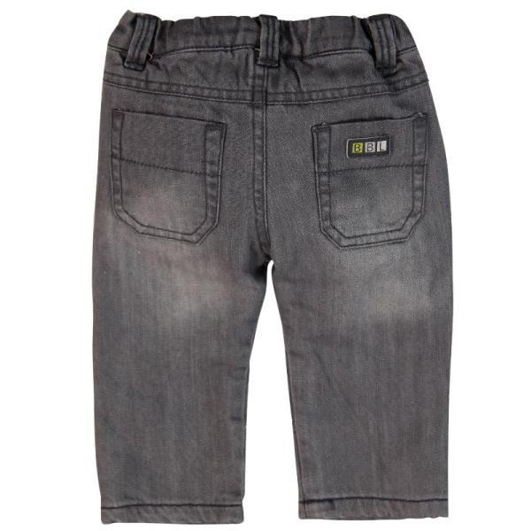BÓBOLI Jungen Jeans grau gefüttert Gr. 74 - 92