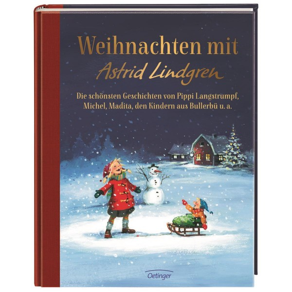Kinderbuch Weihnachten mit Astrid Lindgren