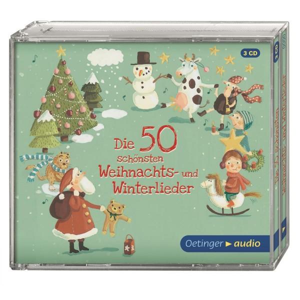 Kinder-CD Die 50 schönsten Weihnachts- und Winterlieder (3 CDs)