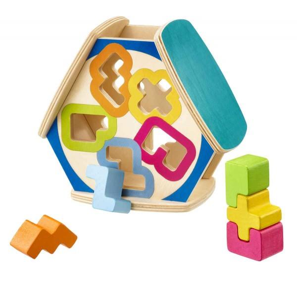 Selecta Holzspielzeug Sortierbox Sortino