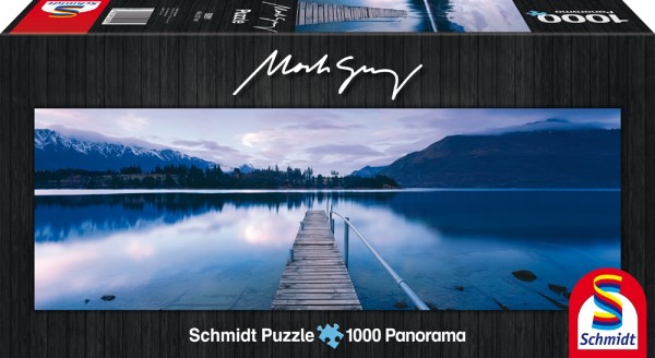 Erwachsenenpuzzle Mark Gray Lake Wakatipu - New Zealand