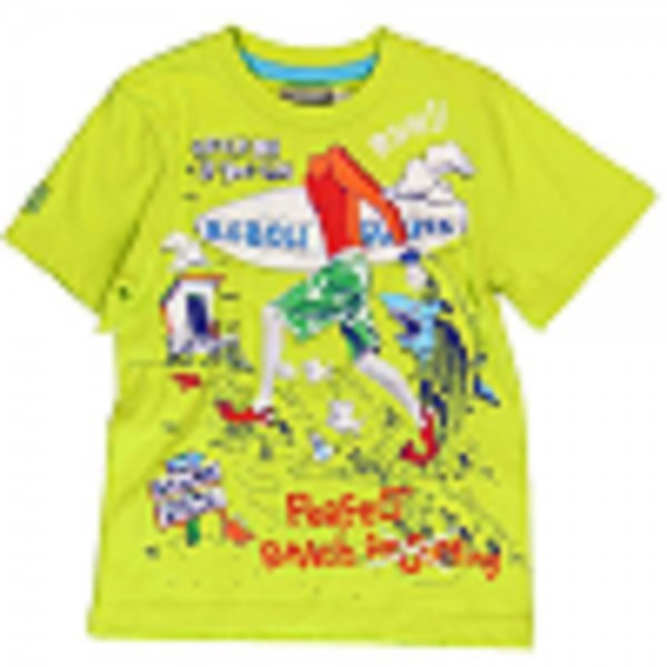 Bóboli Jungen Kinder T-Shirt apfelgrün Gr. 110 - 164