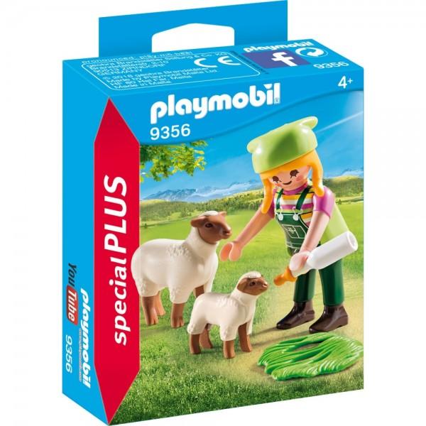Playmobil® Special Plus Bäuerin mit Schäfchen 9356