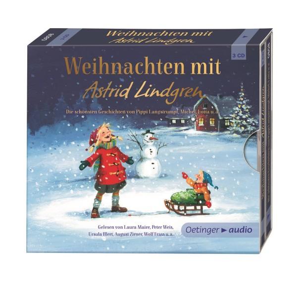 Kinder-CD Weihnachten mit Astrid Lindgren 3er Pack