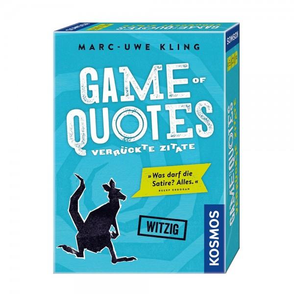 Kosmos Spiel Game of Quotes