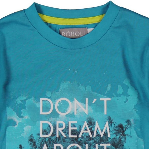 Bóboli Jungen Langarm-Shirt Don´t dream about it Gr. 98 - 164