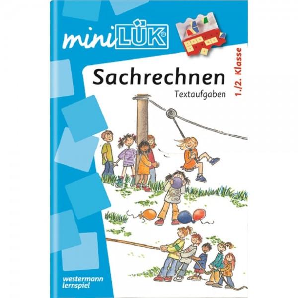 miniLÜK Heft Sachrechnen Textaufgaben 1./2. Klasse