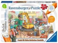 Ravensburger tiptoi Puzzle 2 x 12 Teile Baustelle