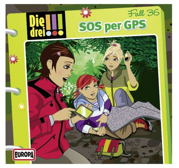 KOSMOS CD Die drei !!! 36 SoS per GPS