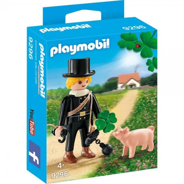 Playmobil® City Life Schornsteinfeger mit Glücksschweinchen 9296