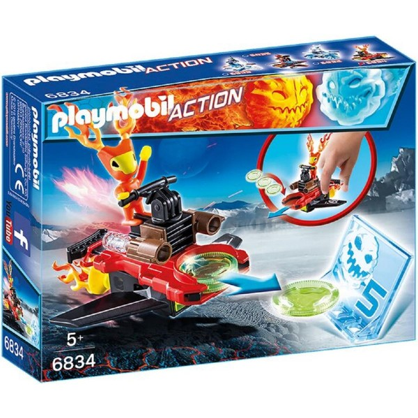 Playmobil® Action Sparky mit Disc-Shooter 6834
