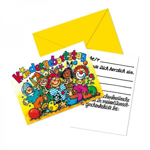LUTZ MAUDER Kindergeburtstag Geschenkekisten-Karte Partykids