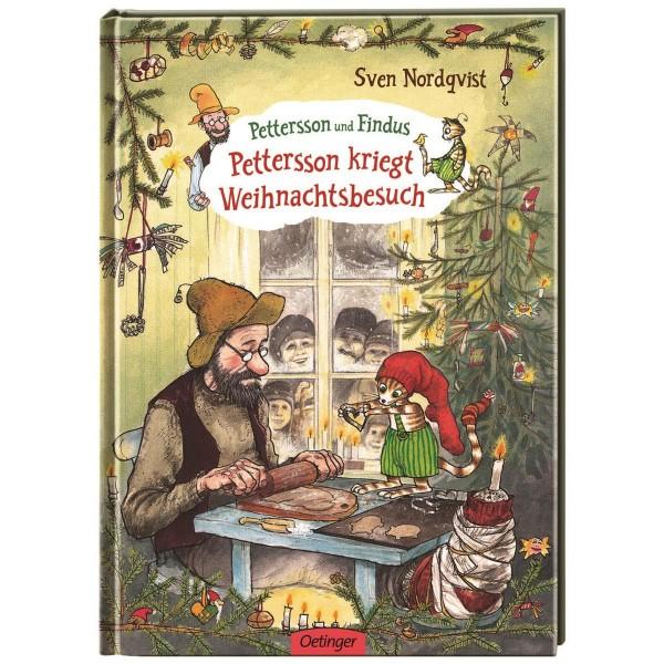 Kinderbuch Pettersson kriegt Weihnachtsbesuch