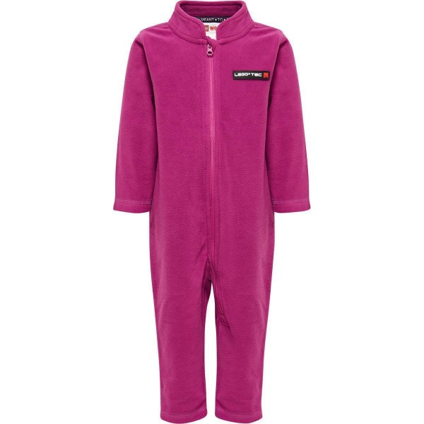 LegoTec Mädchen Fleece Overall light purple Gr. 74 - 104