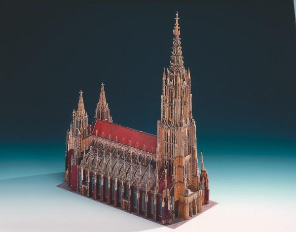 Schreiber-Bogen Kartonmodellbau Ulmer Münster