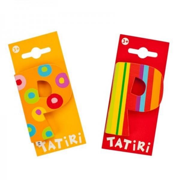 Tatiri Holzbuchstabe P