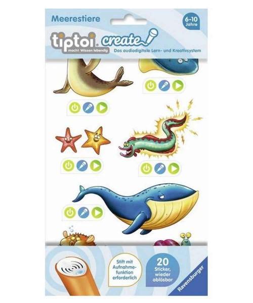 Ravensburger tiptoi® Create Sticker Meerestiere