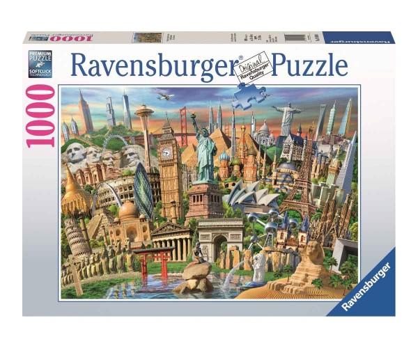Ravensburger 1000 Teile Puzzle Sehenswürdigkeiten Weltweit