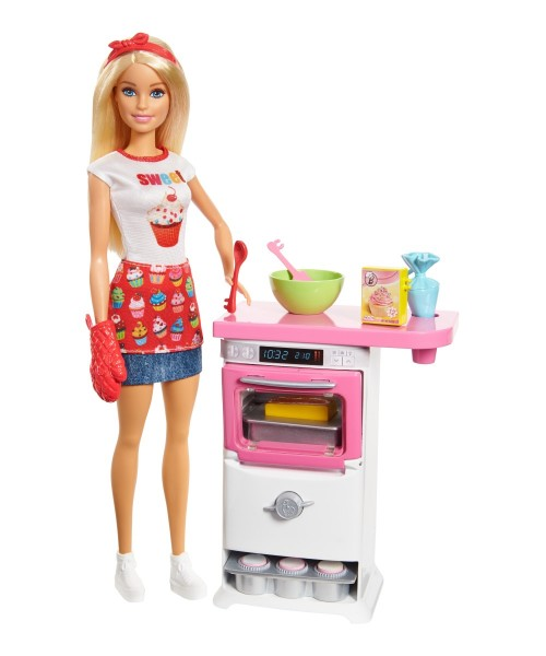 Mattel Barbie Cooking & Baking Bäckerin Spielset