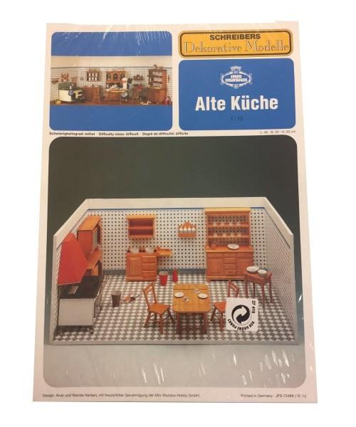 Schreibers Dekorative Modelle Alte Küche