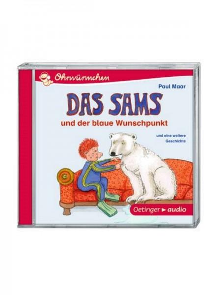 Das Sams und der blaue Wunschpunkt und eine weitere Geschichte (CD)