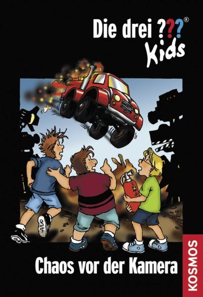 KOSMOS Die drei ??? Kids Buch, 4, Chaos vor der Kamera