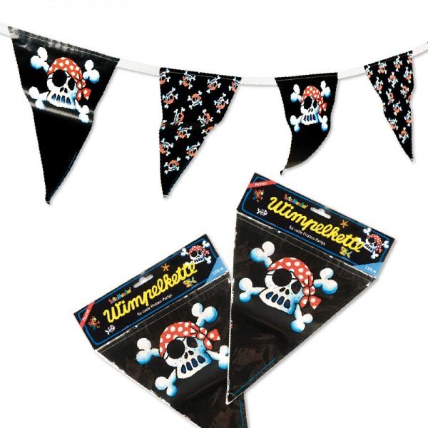 LUTZ MAUDER Kindergeburtstag Wimpelkette Jolly Roger