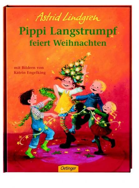 Kinderbuch Pippi Langstrumpf feiert Weihnachten