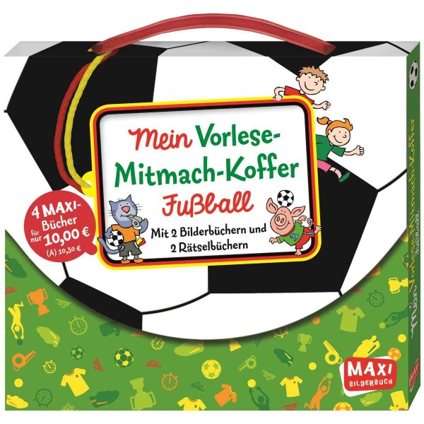 Mein Vorlese-Mitmach-Koffer Fußball (Maxi)