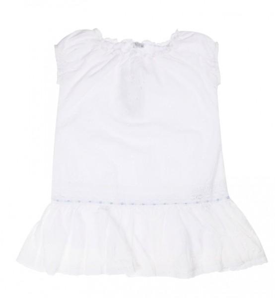 Königsmühle - festliches Kleid weiß - Mädchen Gr. 104 - 140