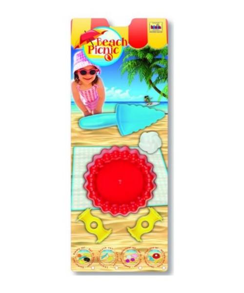 Sandspielzeug Beach Picnic Obsttorten-Set