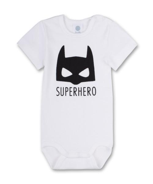 Sanetta Baby Body Kurzarm Superhero
